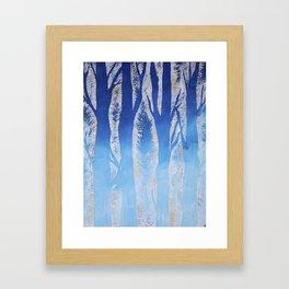 Winter Skye Framed Art Print