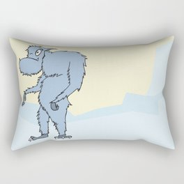 Mr. Yeti Dude Rectangular Pillow