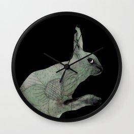 green lapin Wall Clock