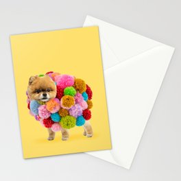 Pom Pomeranian Stationery Cards