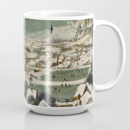 Pieter Bruegel The Elder - Hunters In The Snow, Winter Coffee Mug