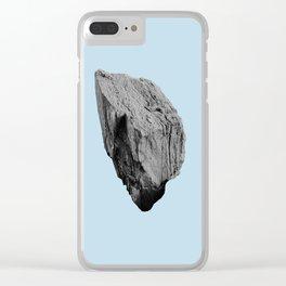 Blue Boulder Clear iPhone Case