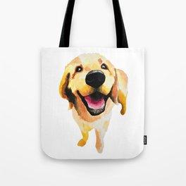 Good Boy / Yellow Labrador Retriever dog art Tote Bag