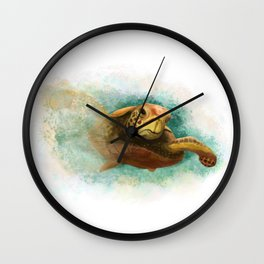 Going Places Wall Clock