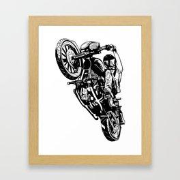 Wheelee Framed Art Print