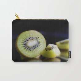 Sliced Kiwi Fruit - Kitchen or Cafe Decor Carry-All Pouch