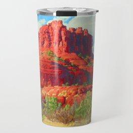 Big Bell Rock Sedona by Amanda Martinson Travel Mug