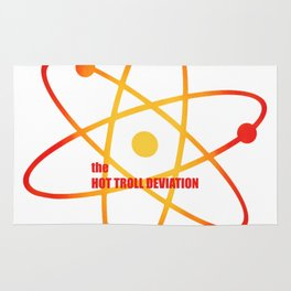 the Hot Troll Deviation - Season 4 Episode 4 - the BB Theory - Sitcom TV Show Rug