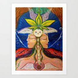 Owl Magic Art Print