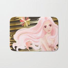 Gold & Pink Bath Mat