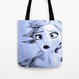 Frozen's Queen Elsa of Arendelle Tote Bag