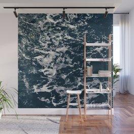 Blue Sea Wall Mural
