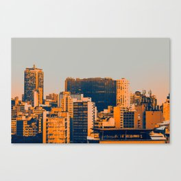 Sao Paulo Skyline II Canvas Print