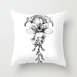In Bloom #02 Throw Pillow