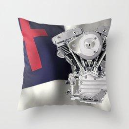 Christian Riders Throw Pillow
