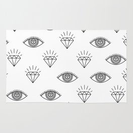 Diamond Eyes #society6 #decor #buyart Rug