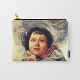 Luise Rainer, Vintage Actress Carry-All Pouch