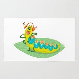Poisonous Caterpillars Rug