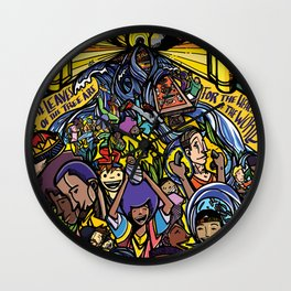Revelation 22 Wall Clock