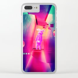 Donnie Darko Frank by GEN Z Clear iPhone Case