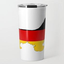 German Flag - Cocker Spaniel Travel Mug
