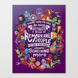 Remarkable People Canvas Print