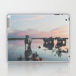 Camargue Horses IV Laptop & iPad Skin