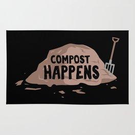 Compost Happens Rug