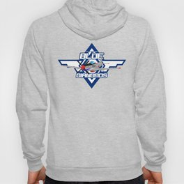 P15-D Mustang Blue Diamonds Hoody