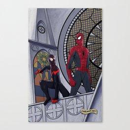 Spider-Men Canvas Print