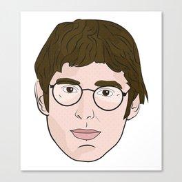 Louis Theroux Pop Art Canvas Print