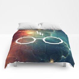 Lightning Scar Nebula HP Comforters