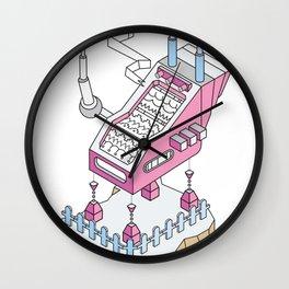 ornament_factory_2 Wall Clock