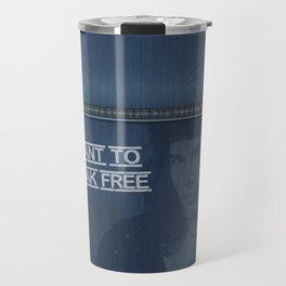 Denim Jeans - I Want To Break Free & F.Mercury Travel Mug