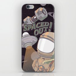 Spaced Out! iPhone Skin