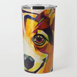 Pop Art Corgi Travel Mug