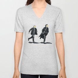 Swift Run (Sherlock and John) Unisex V-Neck