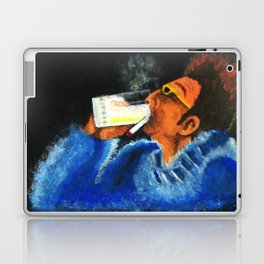 """HERE'S TO FEELIN' GOOD ALL THE TIME"" Laptop & iPad Skin"