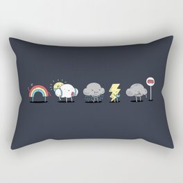 There's always rainbow after the rain Rectangular Pillow
