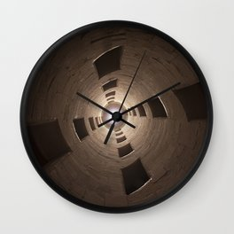Chambord Castle - Stairs Wall Clock