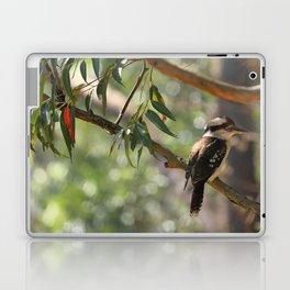 Kookaburra sitting in a gum tree Laptop & iPad Skin