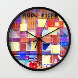 The Wool Store Wall Clock