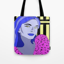 Blue is the warmest color Tote Bag