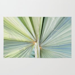 Fanned Palms Rug