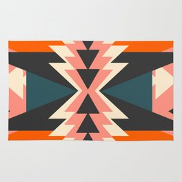 Colorful ethnic decoration Rug
