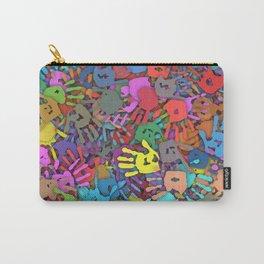 Color handprints Carry-All Pouch