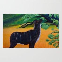 Kudu Landscape Acrylic Rug