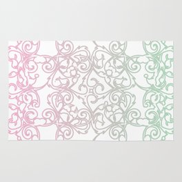 Cotton Candy Fretwork Rug