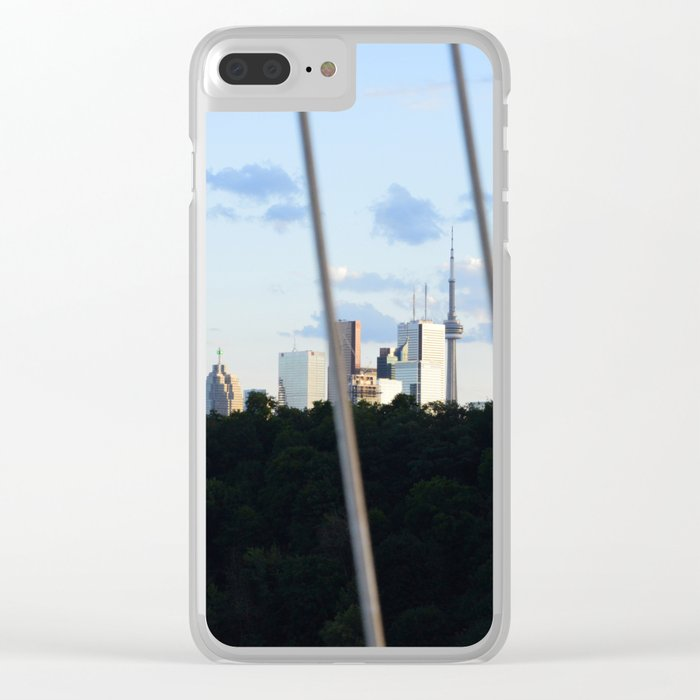 Toronto Series - Fenced Clear iPhone Case