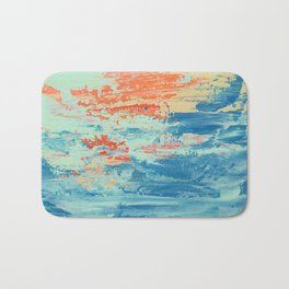 Sun and Sea Bath Mat